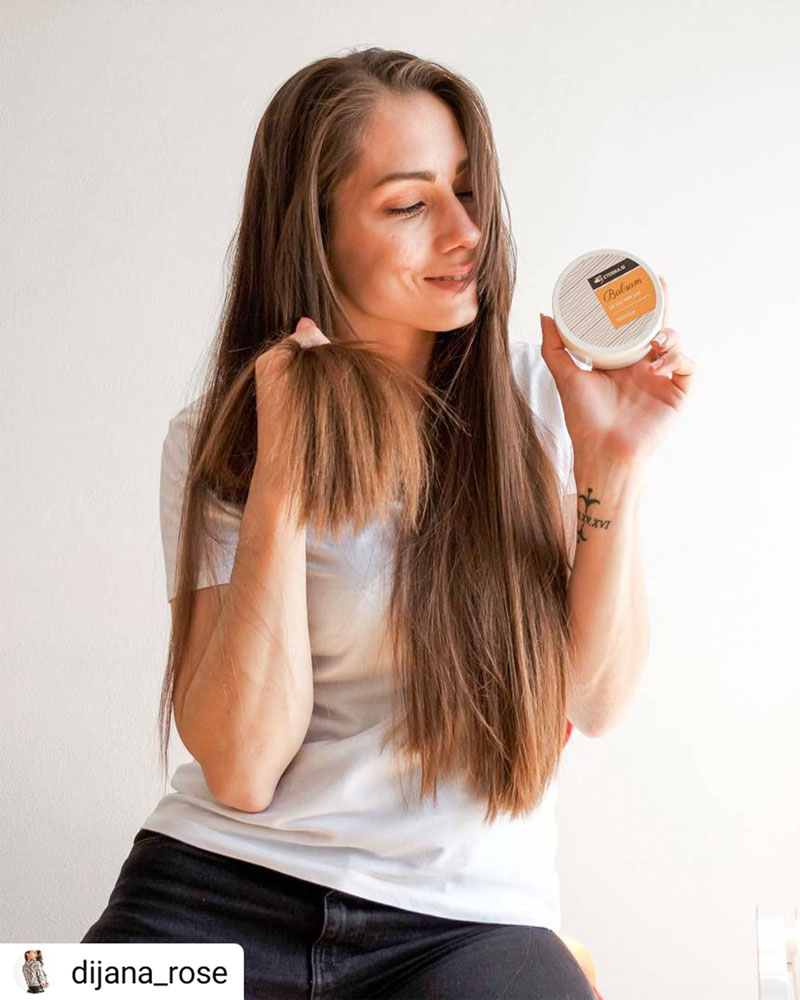 Dijana Rose with Vanilla conditioner
